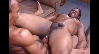 Muscle Ebony Bitch Bottoms To Hung Stud
